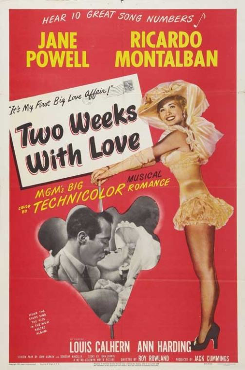 two-weeks-with-love-movie-poster-1950